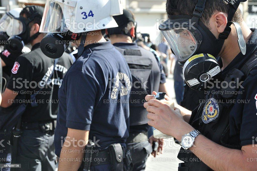 Gezi Park Protests stock photo