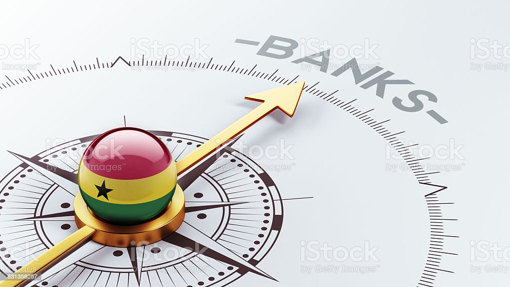 Ghana Banks Concept stock photo