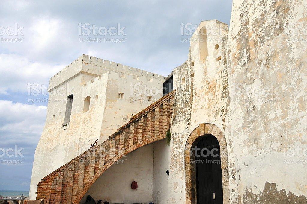 Ghana: Cape Coast castle stock photo