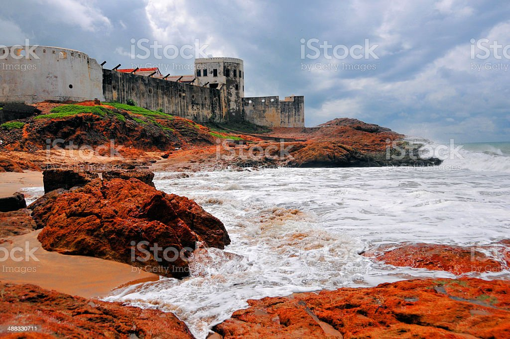 Ghana, Cape Coast castle stock photo