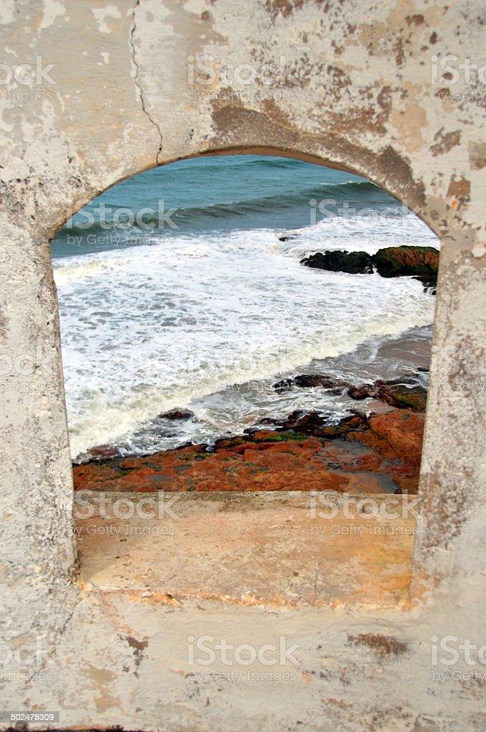 Ghana, Cape Coast stock photo