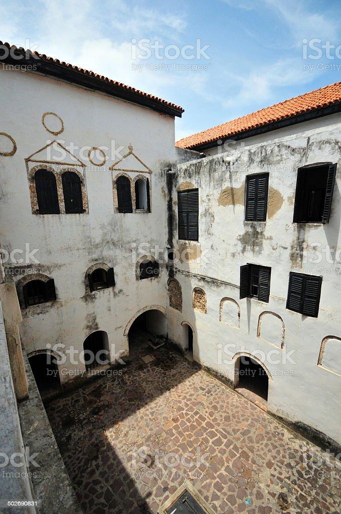 Ghana, Elmina castle stock photo