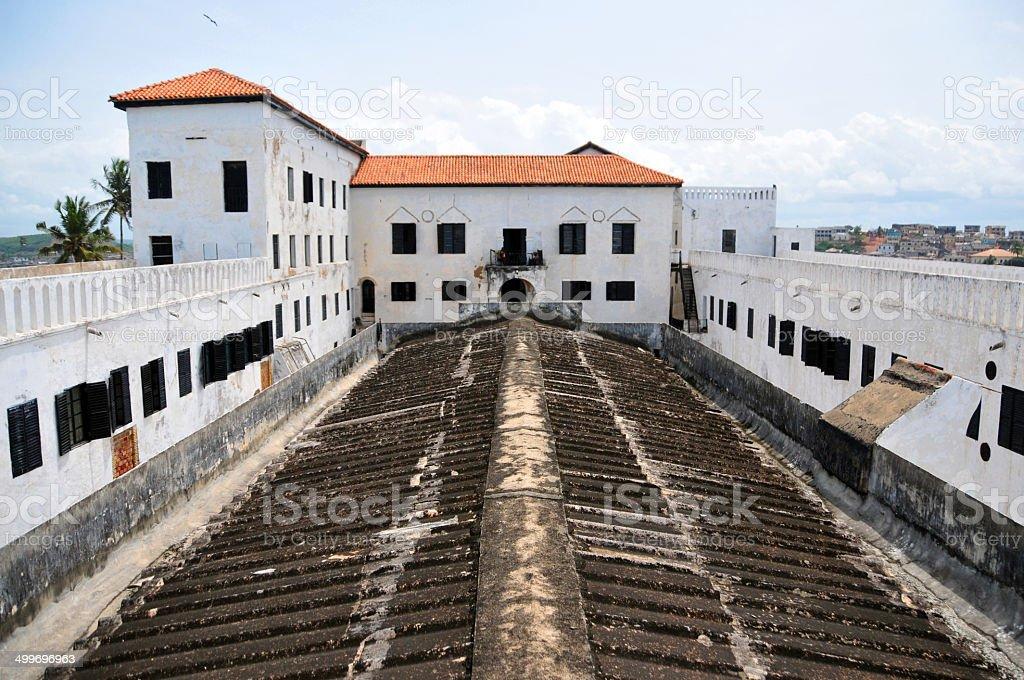 Ghana, West Africa, Elmina castle stock photo