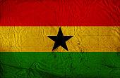 Ghanaian vintage Flag