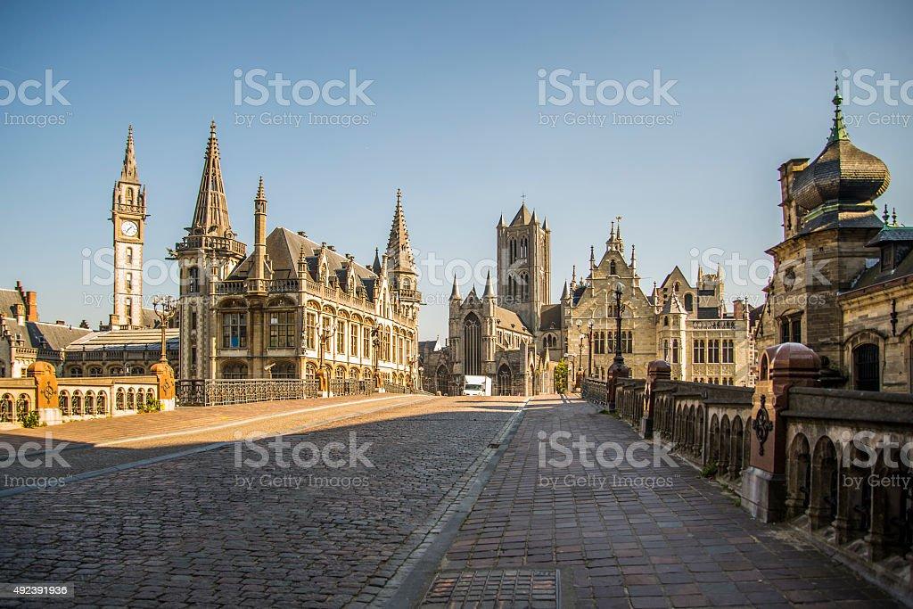 Ghent, Belgium stock photo