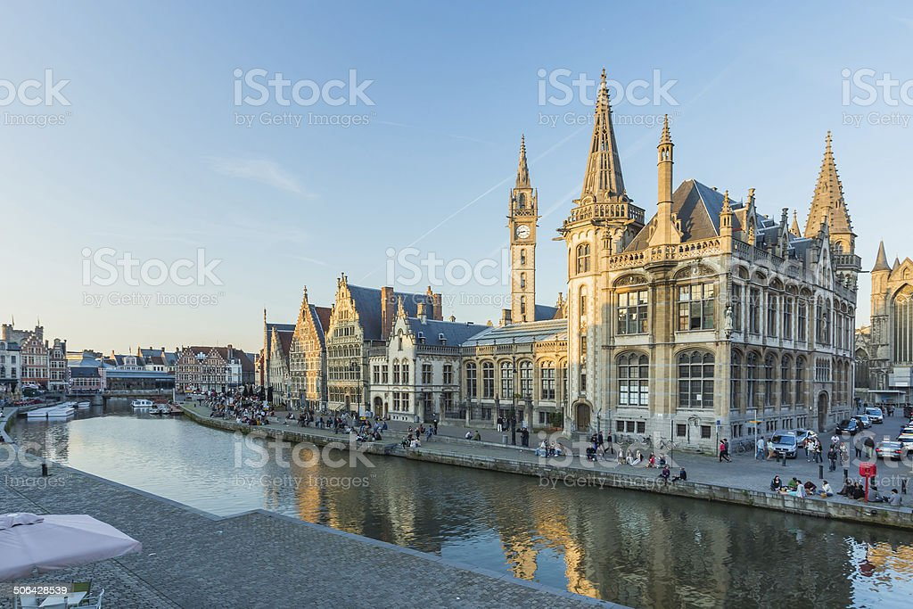 Ghent, Belgium stock photo
