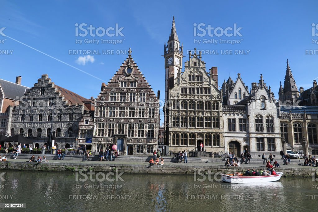 Ghent, Belgium, September, 2015 stock photo