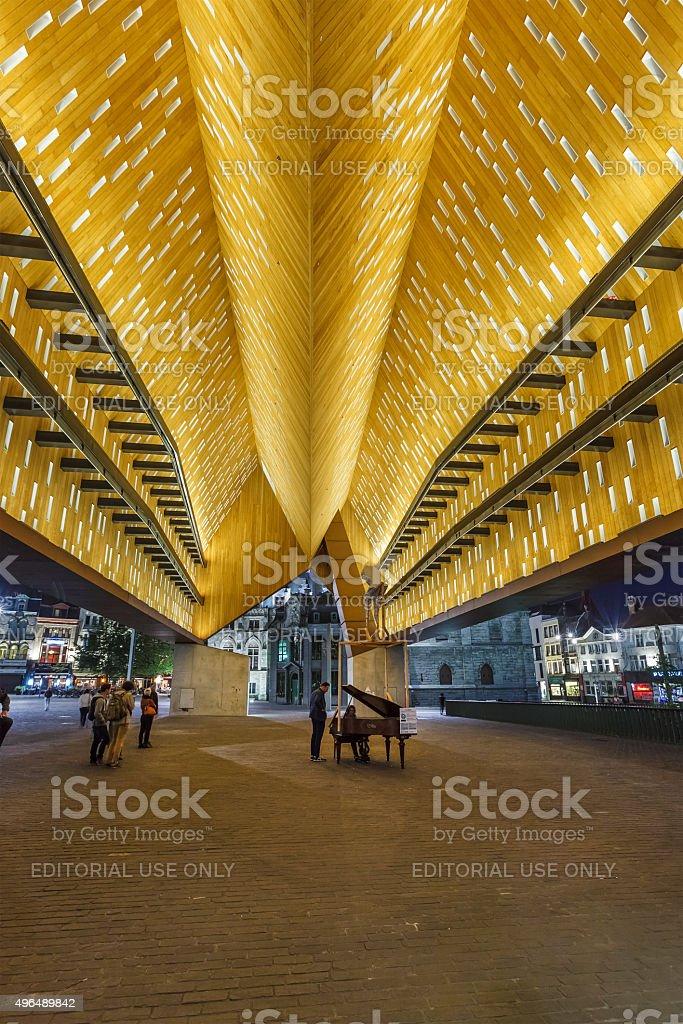 Ghent, City Pavilion - Belgium stock photo