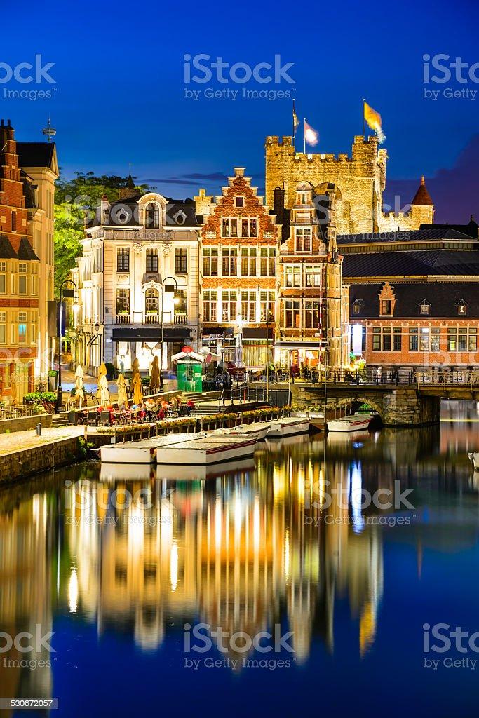 Ghent, Gent, Belgium stock photo
