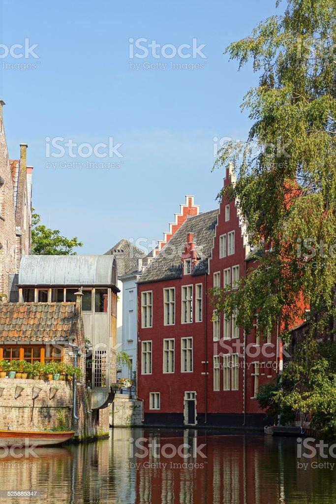 Ghent - Streetview stock photo