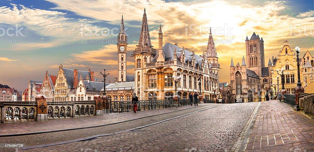 Ghent,Belgium. stock photo