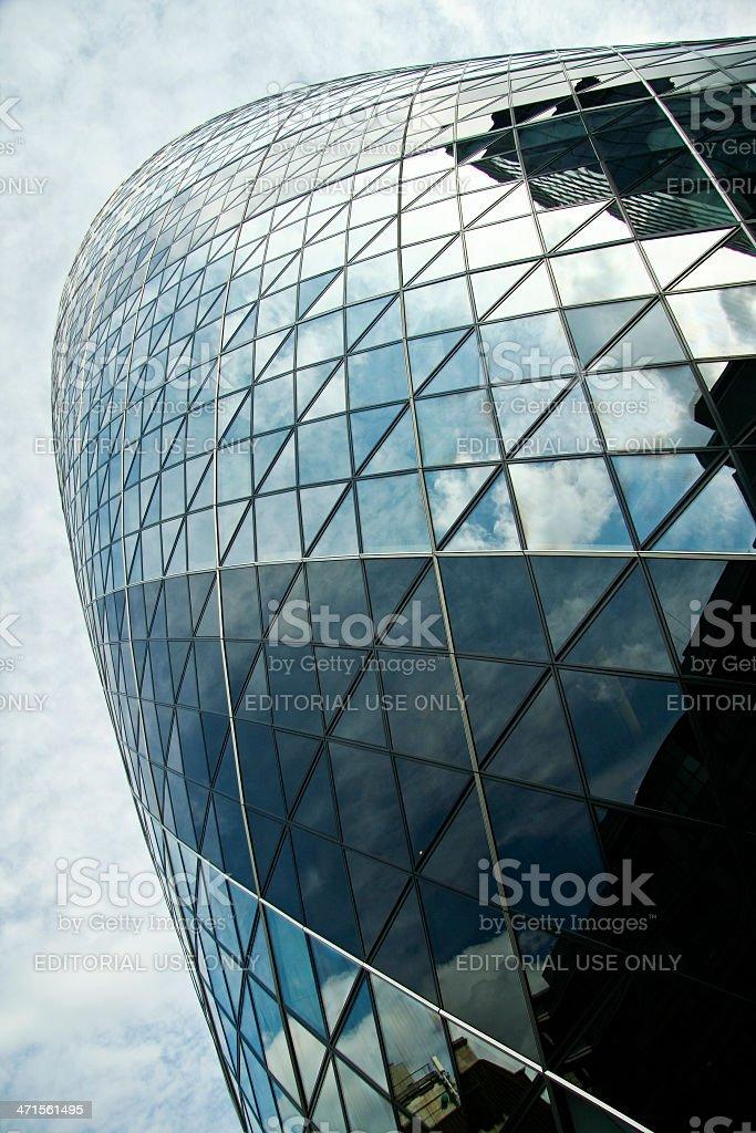 gherkin st marys axe swiss re city of london uk royalty-free stock photo