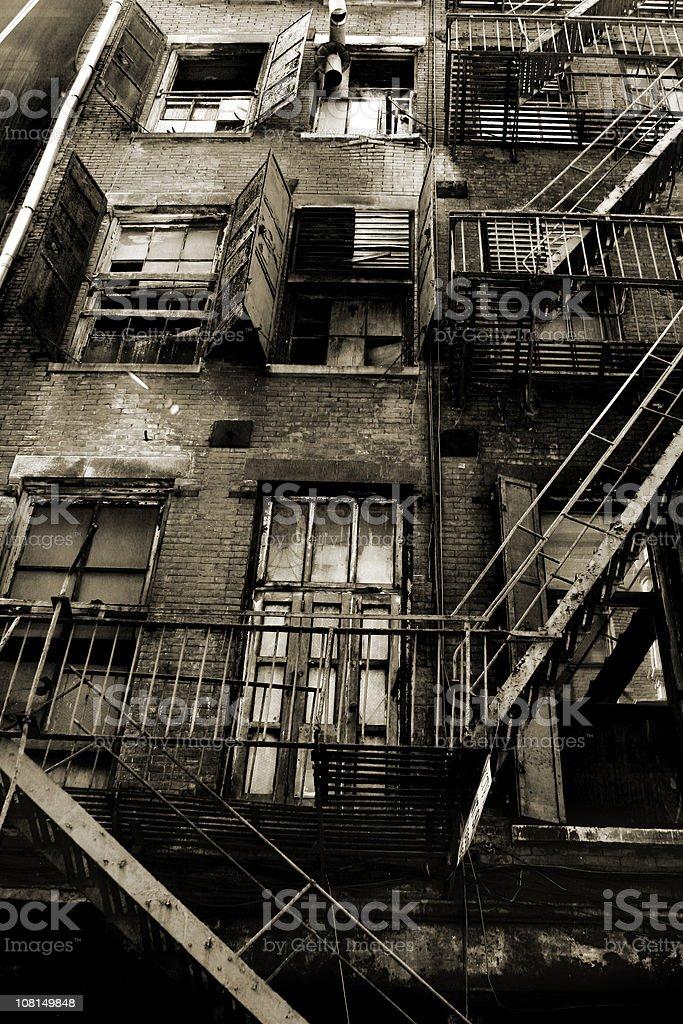 Ghetto royalty-free stock photo