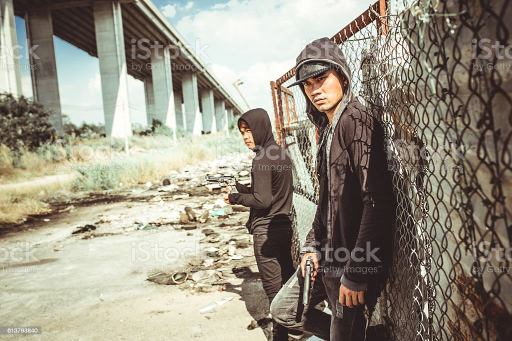 Ghetto stock photo