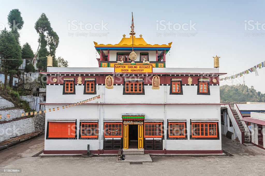 Ghoom Monastery, Darjeeling stock photo