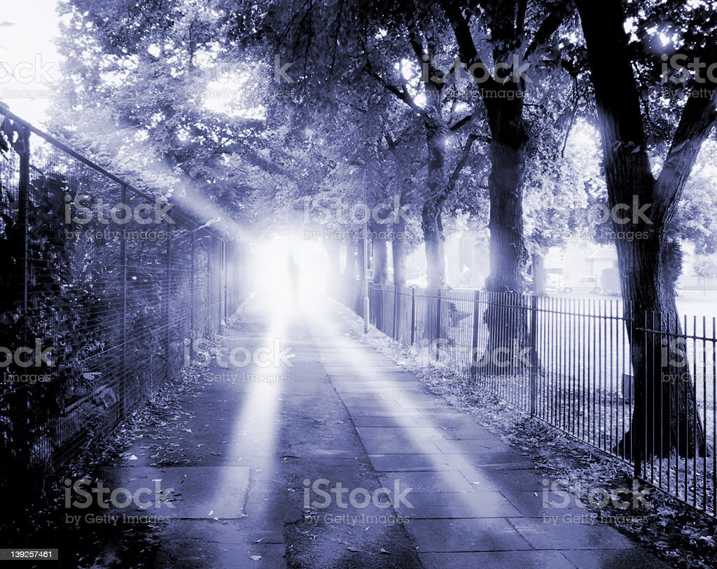 Ghost Alley royalty-free stock photo