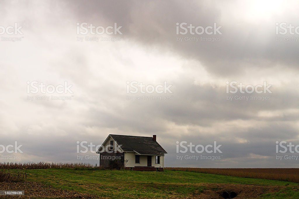 Ghost House stock photo