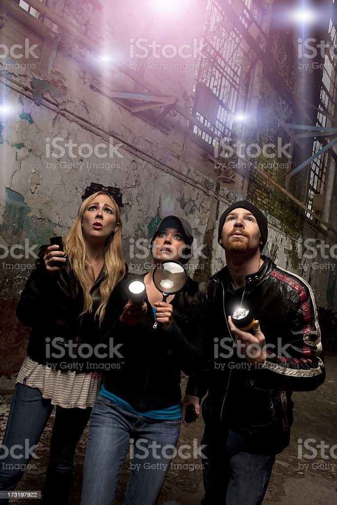 Ghost Hunters royalty-free stock photo