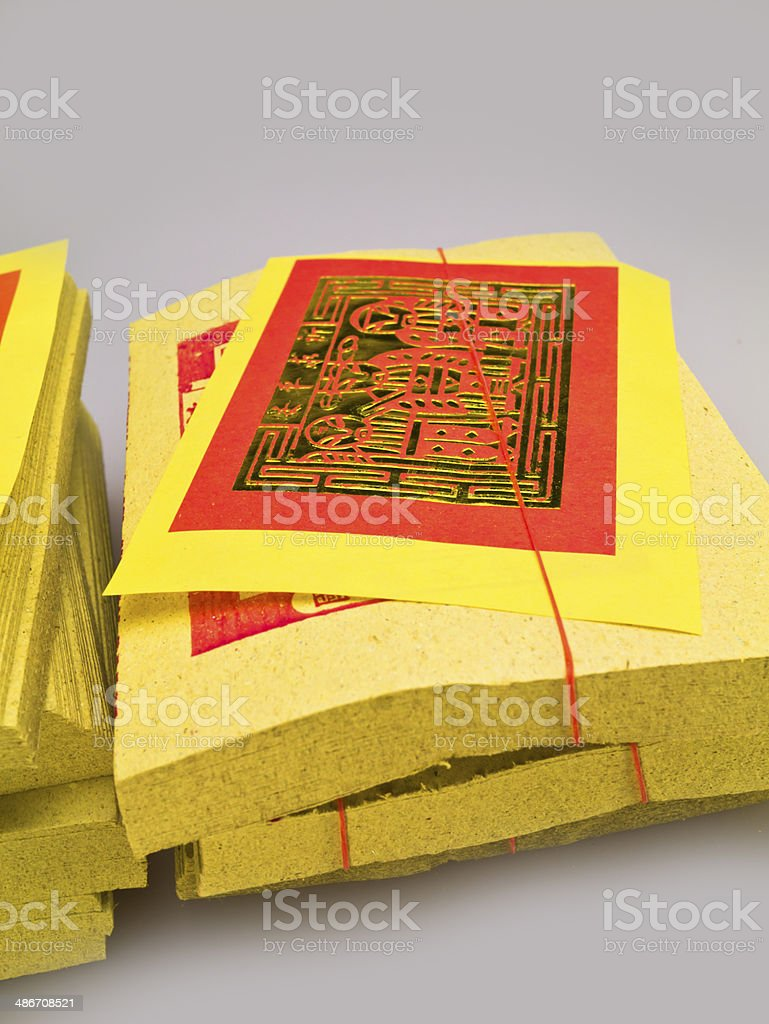 ghost money (paper money) royalty-free stock photo