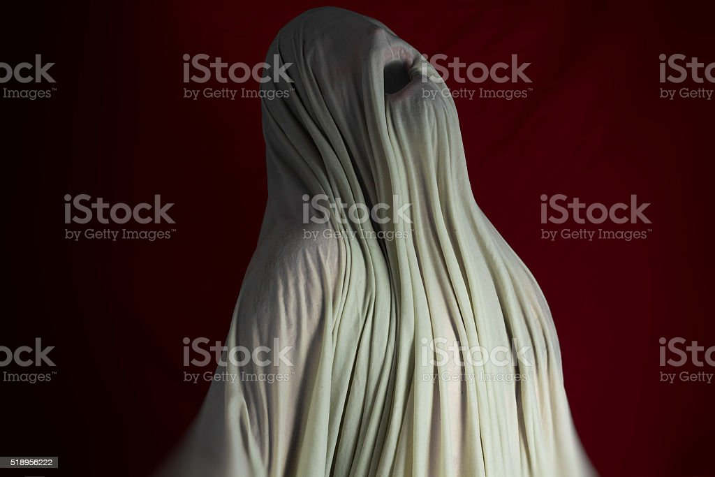 Ghost Monster stock photo