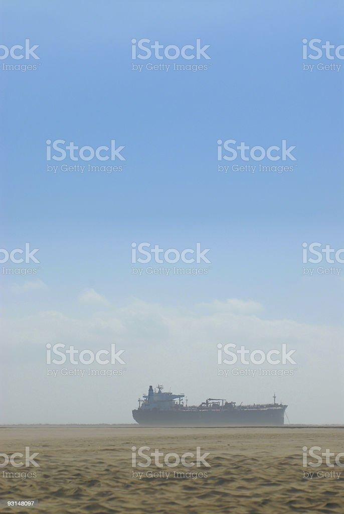 Ghost oil Ship
