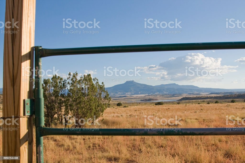 Ghost Ranch stock photo