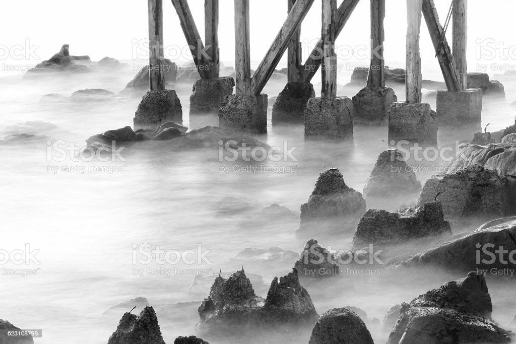 Ghost Rocks stock photo