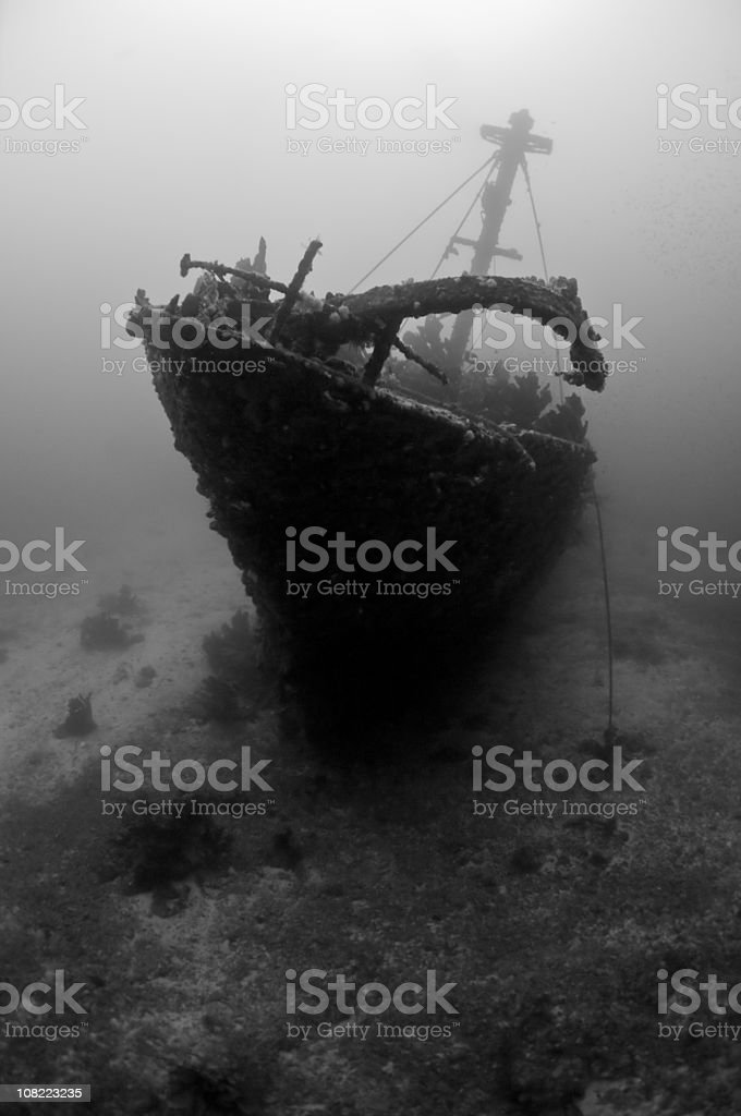 Ghost Ship royalty-free stock photo