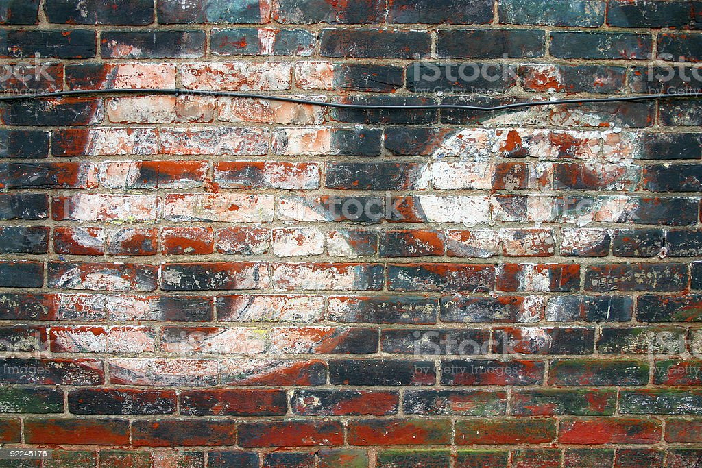 Ghost Sign 'Five Cents' royalty-free stock photo