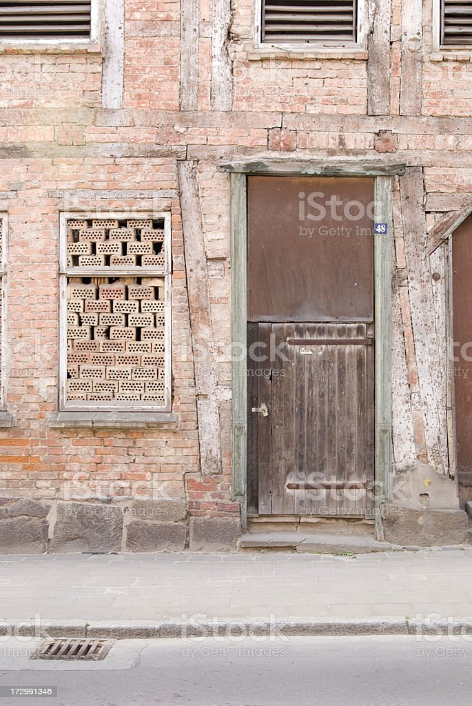 Ghost Town in Germany stock photo