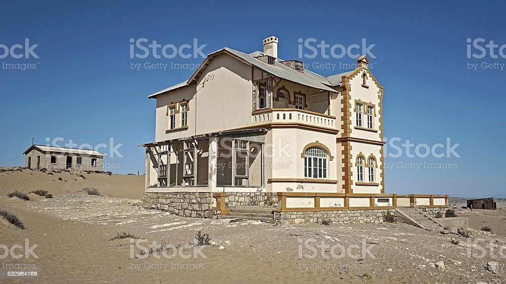 Ghost Town stock photo