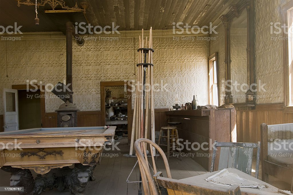 Ghost Town Saloon royalty-free stock photo