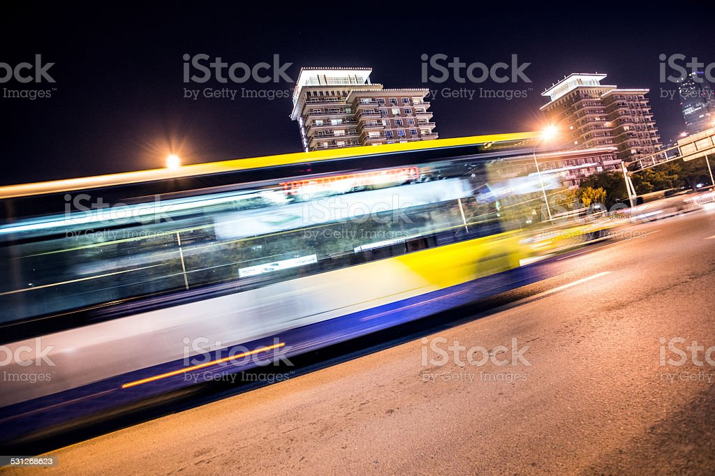 ghostbus stock photo