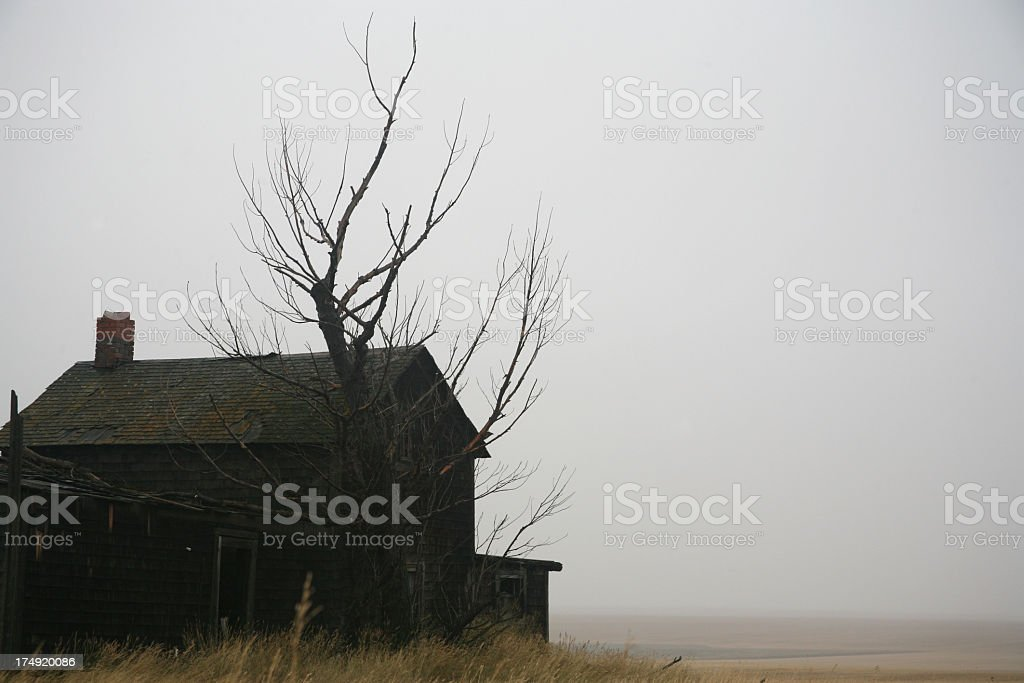ghostly gloom stock photo