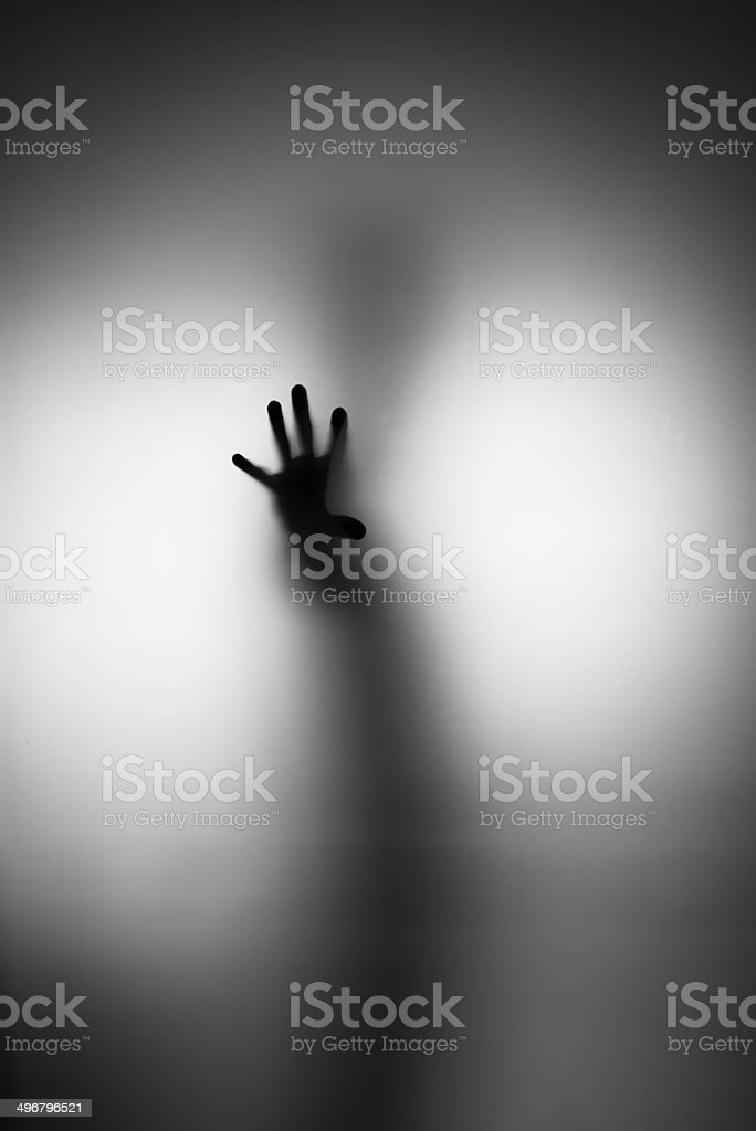 Ghosts Hand stock photo