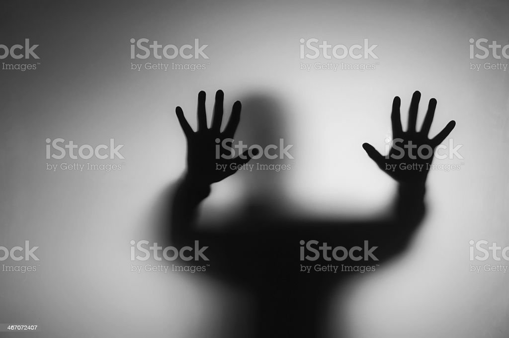 ghosts hands stock photo
