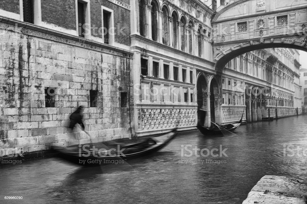 Ghosts of Venice stock photo