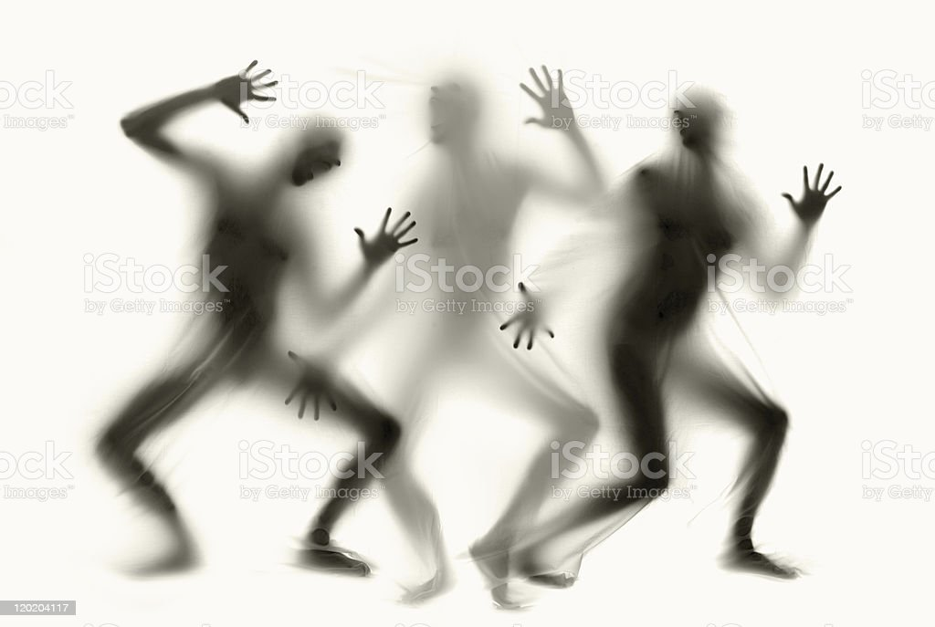 Ghosts royalty-free stock photo