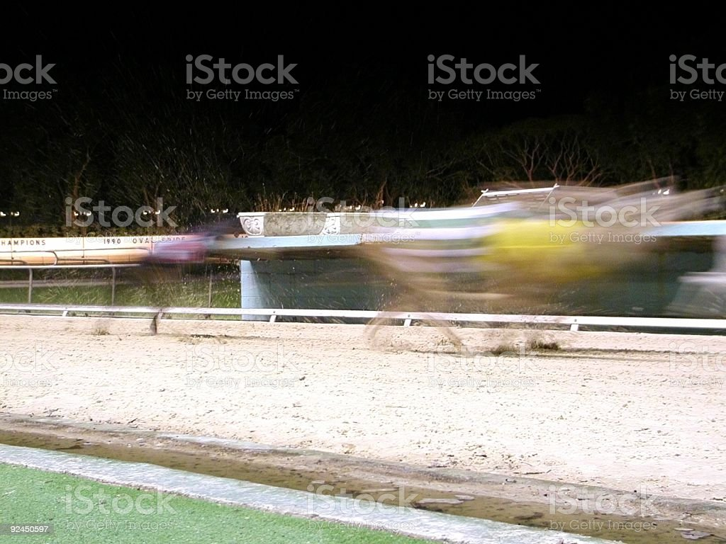 Ghosts Race royalty-free stock photo