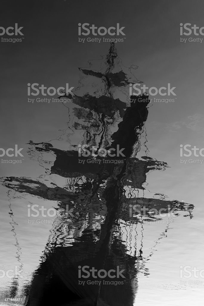 Ghostship royalty-free stock photo