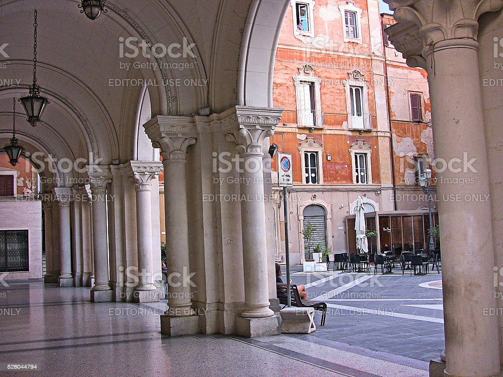 Gianbattista Vico square stock photo