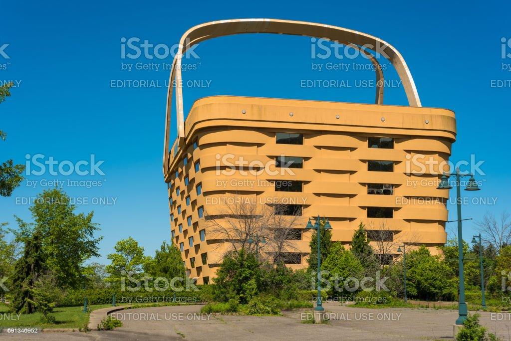 Giant Basket stock photo