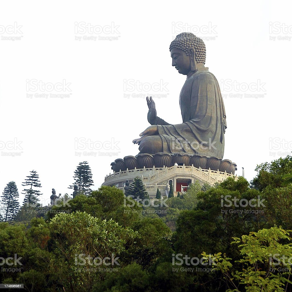 Giant Buddha Statue royalty-free stock photo
