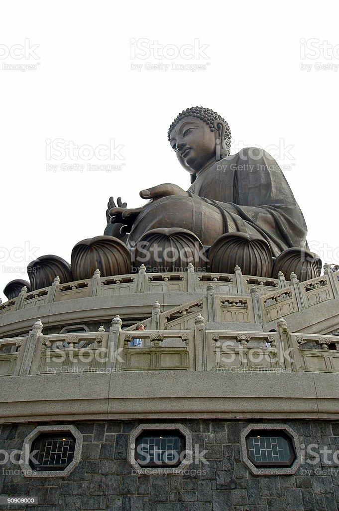 Giant Buddha Statue royalty-free stock photo