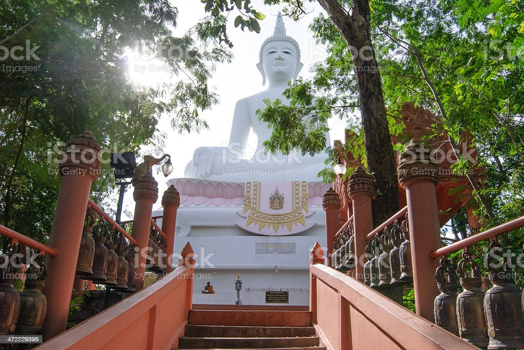Giant budha statue stock photo