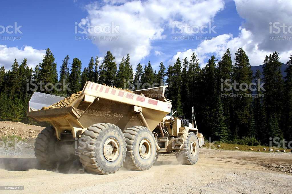 Giant Dump Truck stock photo