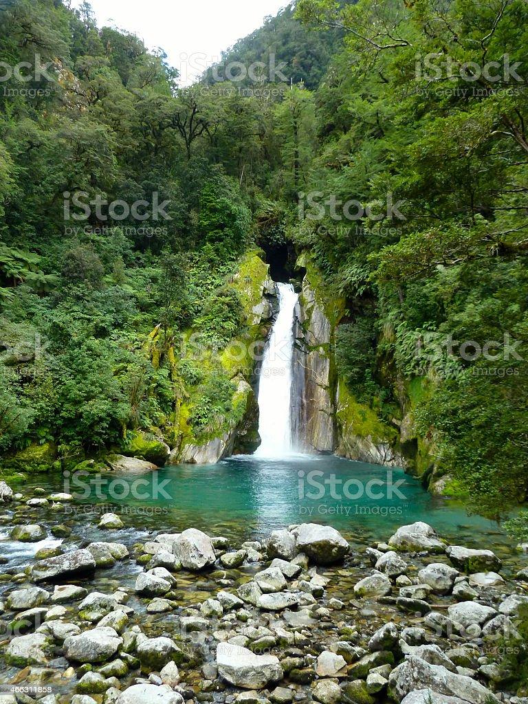 Giant Gates Waterfall stock photo