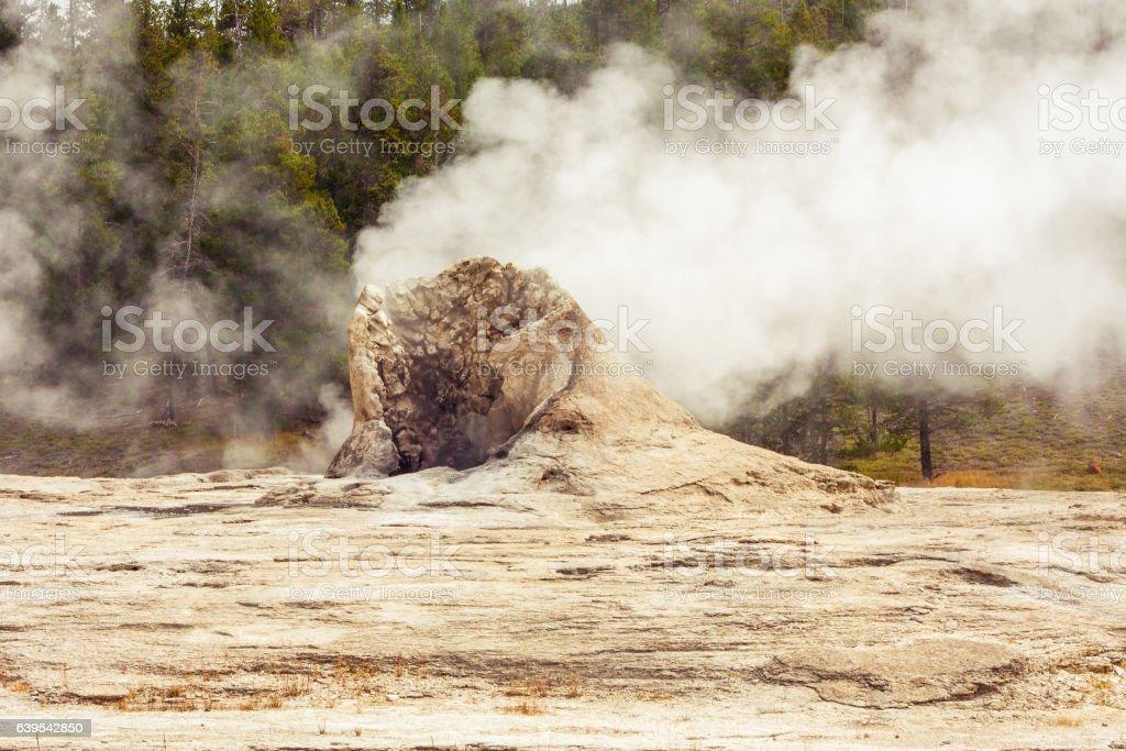 Giant Geyser stock photo