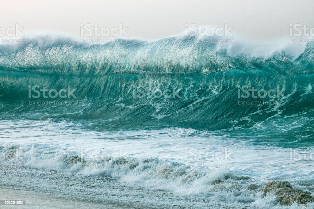Giant Glass Wave stock photo