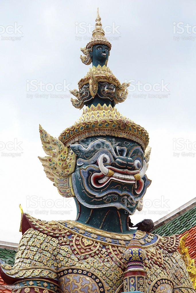 Giant Guardian in Bangkok royalty-free stock photo